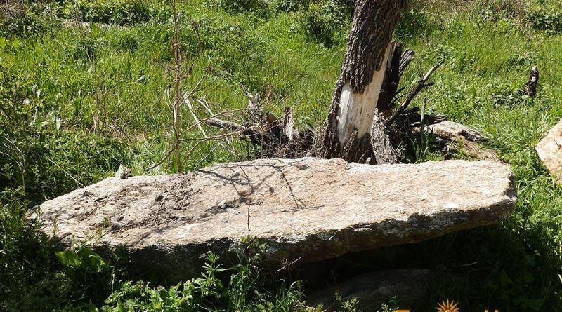 Еден од гробовите на локалитетот