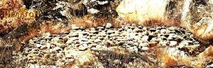 Остатоци од ѕидот на тврдината од јужната страна 8