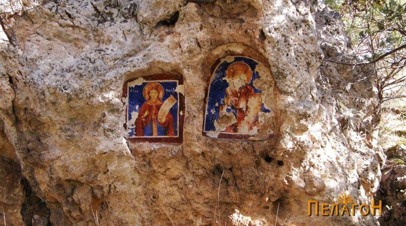 Фрескоживописот со св. петка и св. Никола 2