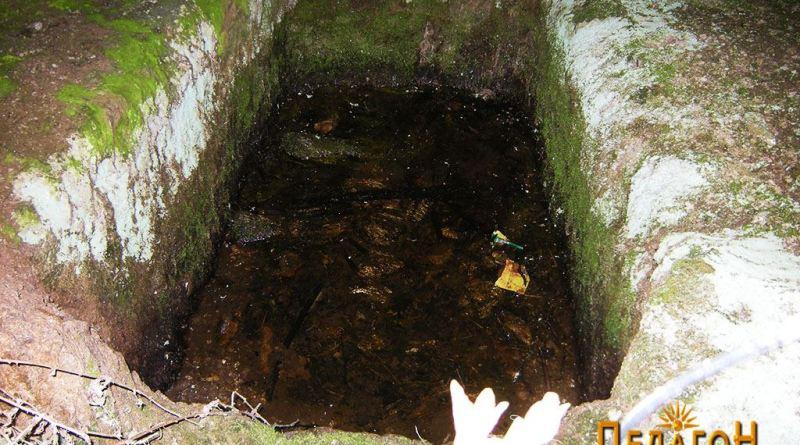 Гробница 1 - погребна јама