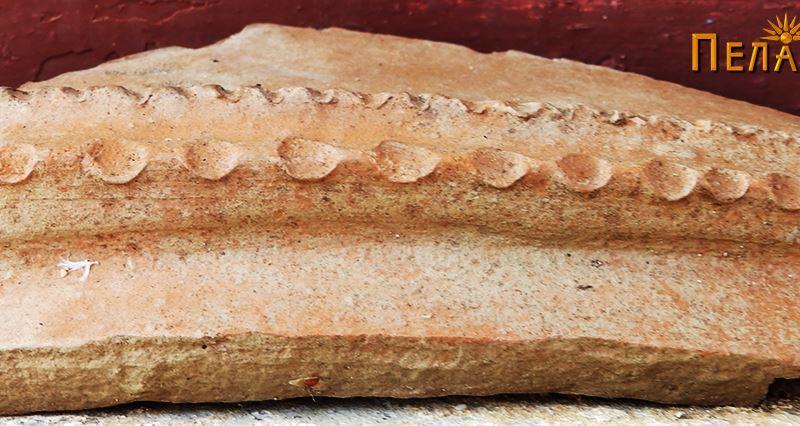 Устинка од керамички сад со украсување