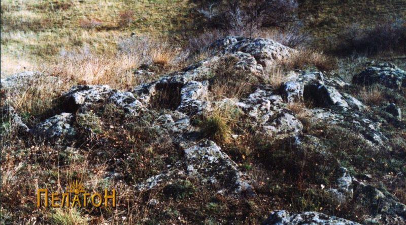 Една од некрополите на карпеста површина