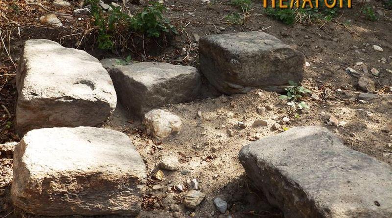 Архитектонски елементи од градба на местото на најновото археолошко ископување 2