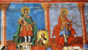 Св. маченик Јаков и св. маченик Меркуриј