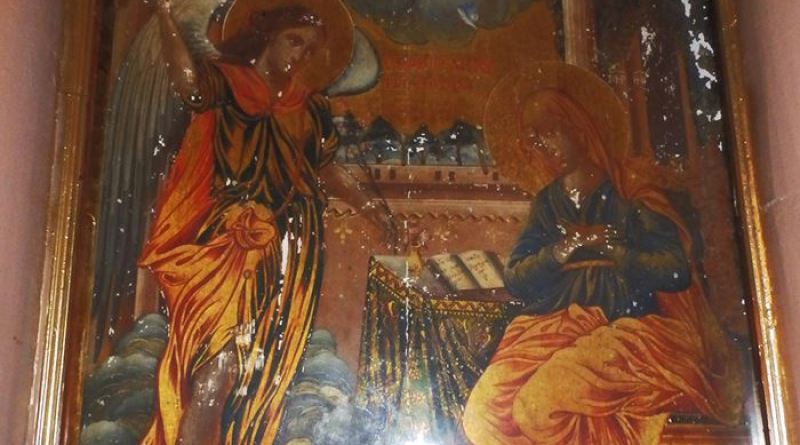Иконата со св. Богородица во молитва