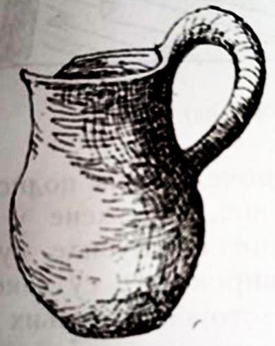 """Керамички сад од гробовите од локалитетот """"Стара Болница"""""""