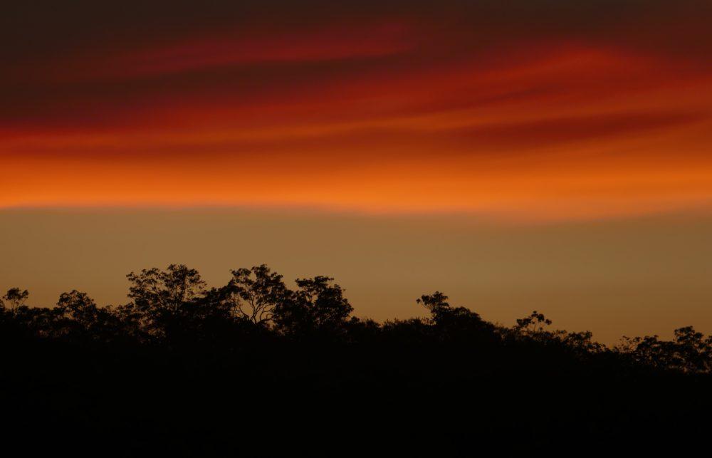 Dusk, Kimberley coast, a little north of Koolan.