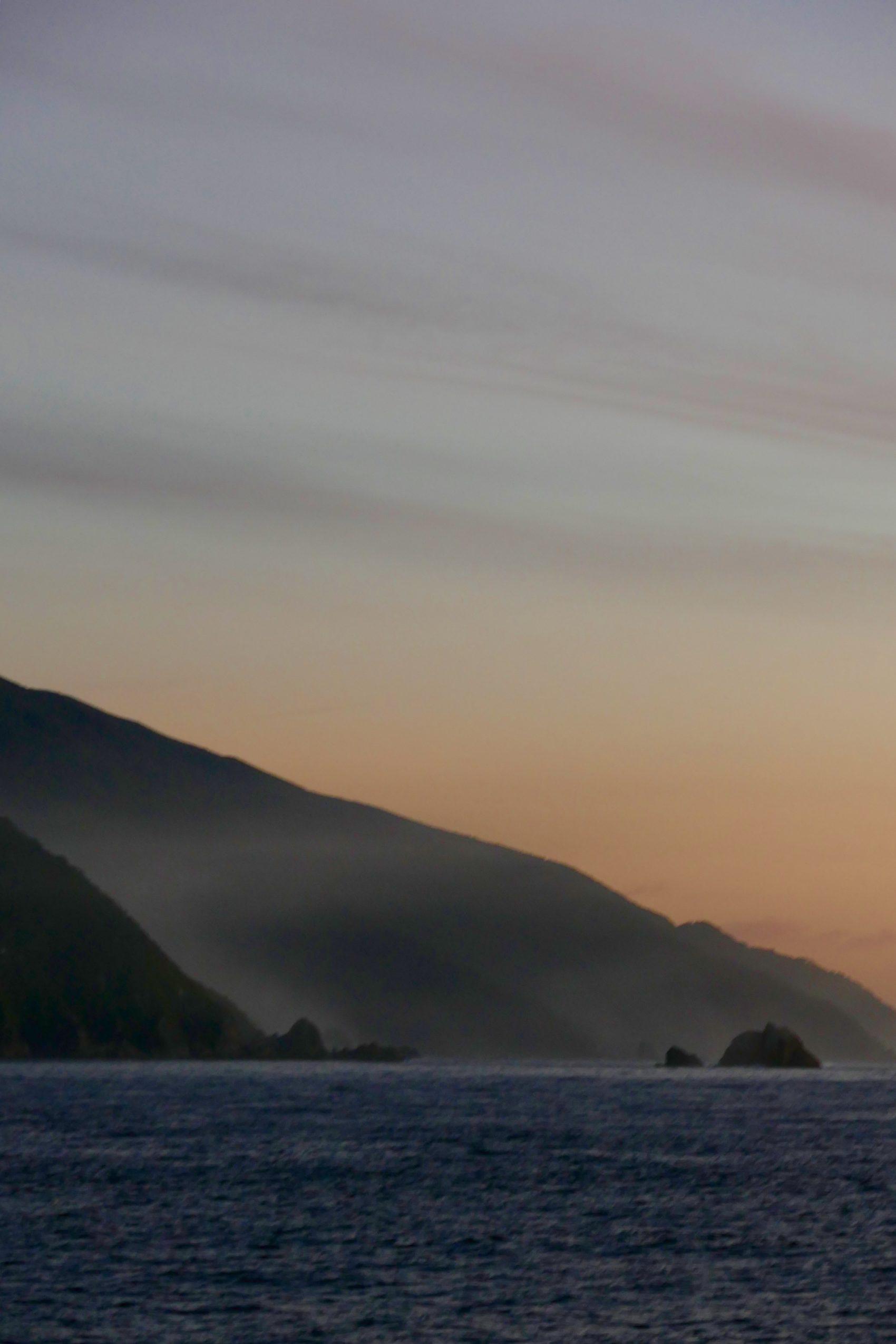 Ocean meets fiord: Doubtful Sound. All photos copyright Doug Spencer.