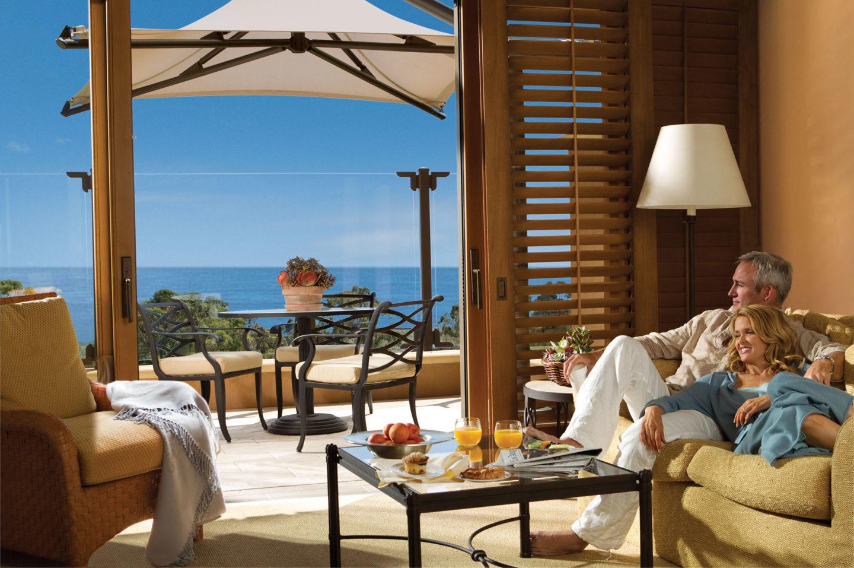 The Resort at Pelican Hill Ocean View Bungalow  5 Star  5 Diamond
