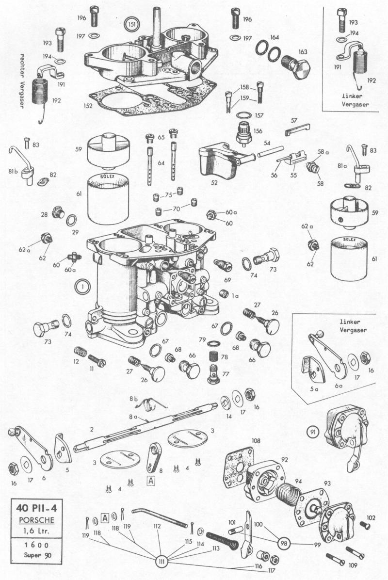 Need parts diagram, Kadron carbs