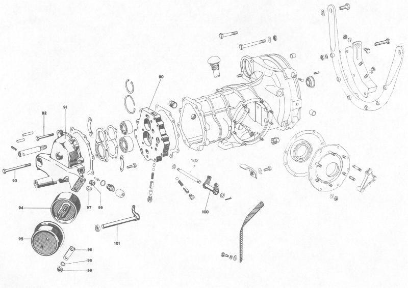 Pelican Parts: Porsche 356B Transmission Housing