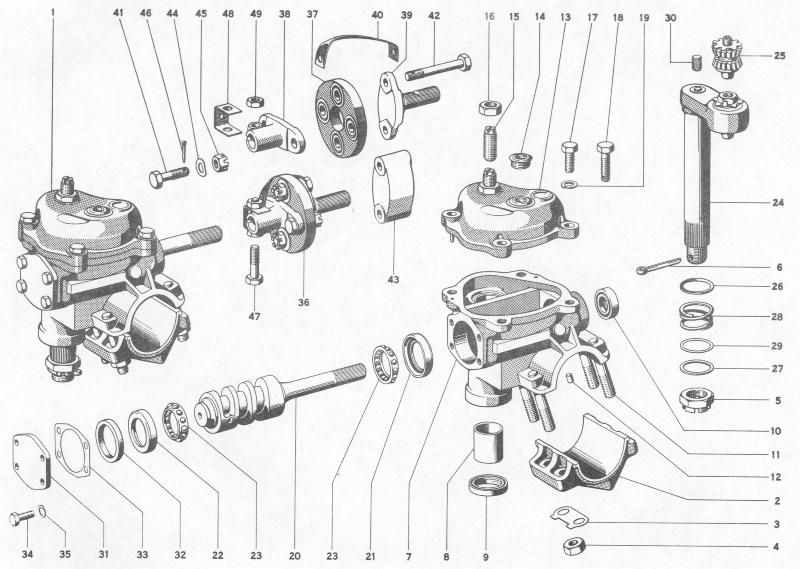 Pelican Parts: Porsche 356B Steering Gear Box