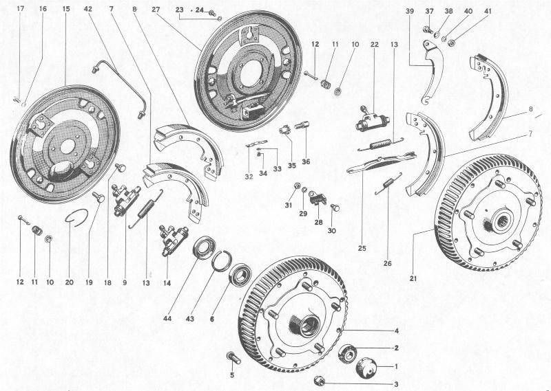 Pelican Parts: Porsche 356B Drum Brake System