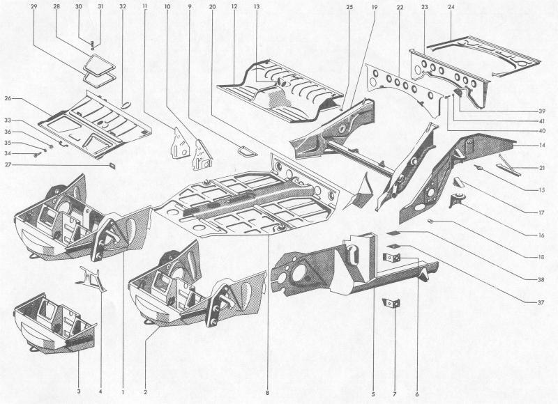 Pelican Parts: Porsche 356B Frame & Sheet Metal