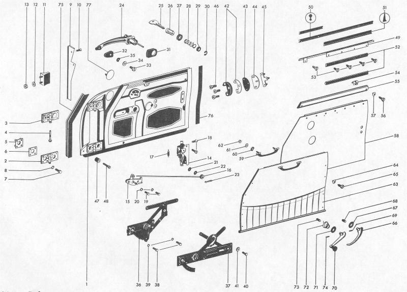 Pelican Parts: Porsche 356B Doors With Accessories
