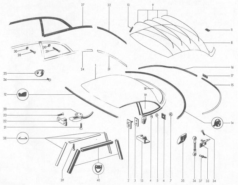 Pelican Parts: Porsche 356B Hard Top