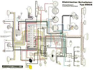 Pelican Parts  Porsche 356 Electrical Diagram