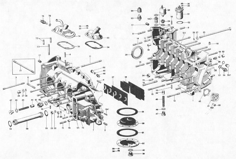 Pelican Parts: Early Porsche 911 Engine Case