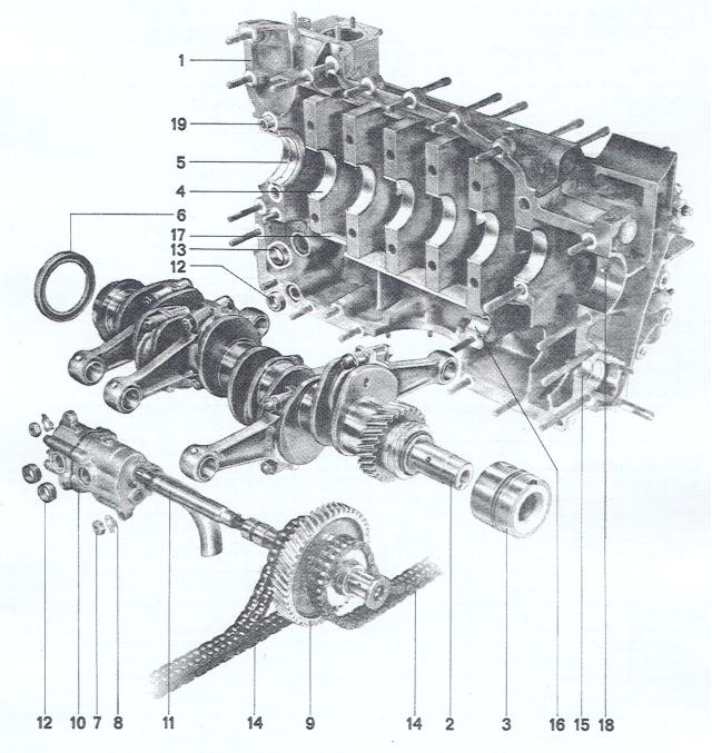 Pelican Parts: Porsche 911 & 914-6 Crankshaft & Engine Case
