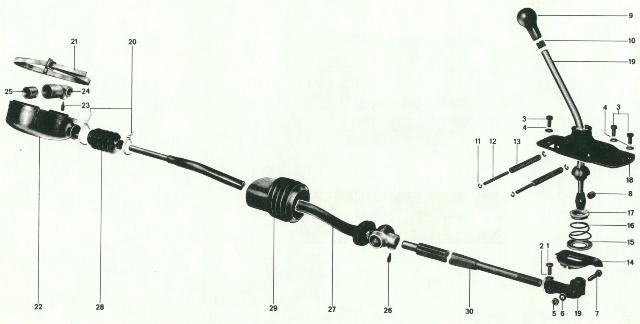 Pelican Parts: Porsche 914 Side Shift Linkage