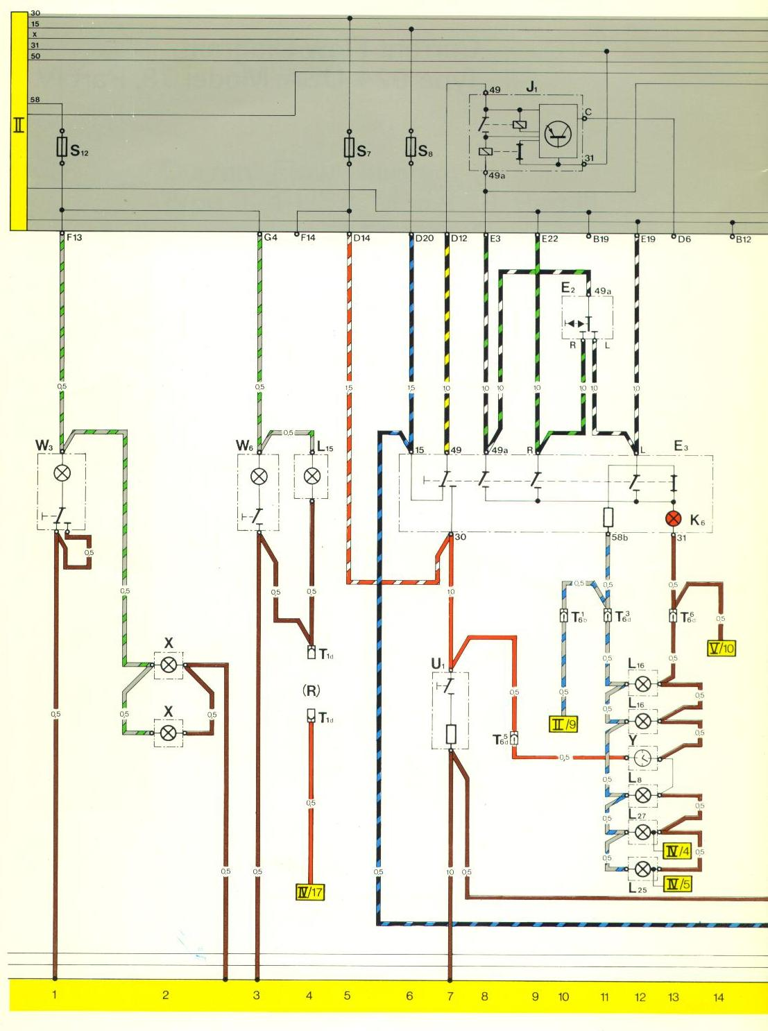 1978 porsche 924 wiring diagram evacuation plan software pelican parts 944 electrical diagrams