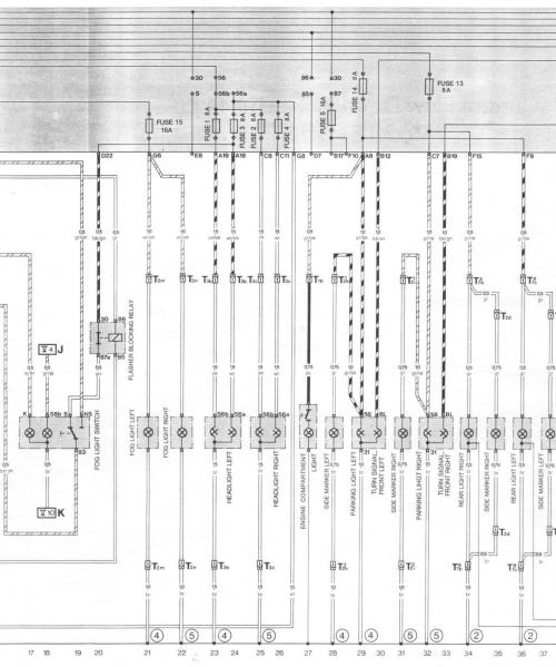 small resolution of pelican parts porsche 924 944 electrical diagrams volkswagen golf wiring diagram 85 porsche 944 wiring diagram