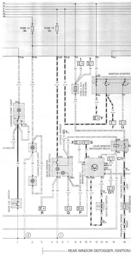 small resolution of pelican parts porsche 924 944 electrical diagrams porsche 944 engine diagram 83 porsche 944 wiring diagram
