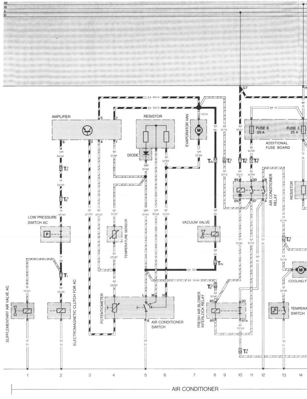 medium resolution of pelican parts porsche 924 944 electrical diagrams 944 pinout diagram 83 porsche 944 wiring diagram