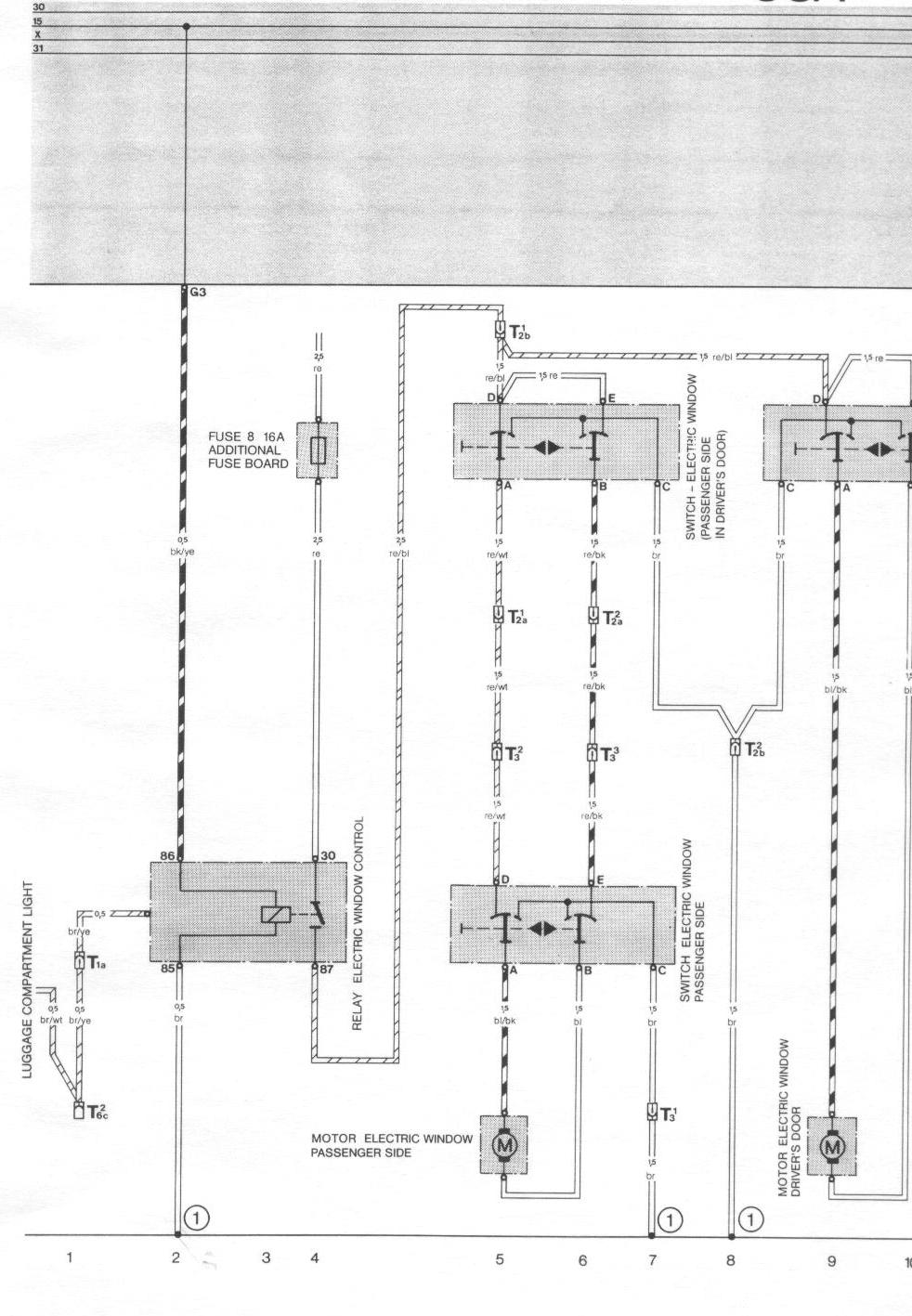 hight resolution of  porsche 944 fuse box diagram electric windows page 1