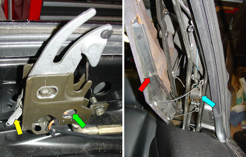 2004 bmw 325i parts diagram wiring for three way switch with two lights pelican technical article: convertible top adjustment and repair