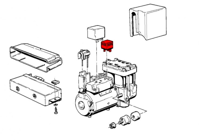ABS Relay, Timing and Valve Mechanism for ABS System