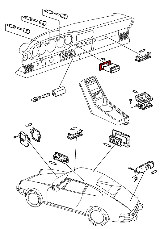 1985 Porsche 911 Fuse Box Diagram