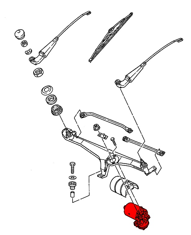 Wiring Diagram In Addition Porsche 928 Wiper Motor, Wiring