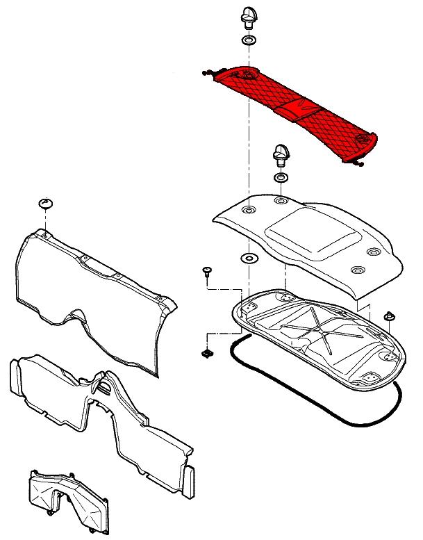 Porsche Boxster Trunk Compartment, Porsche, Free Engine