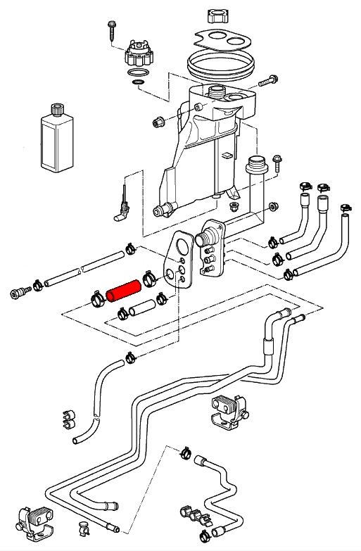 Porsche Boxster Radiator Hose Diagram, Porsche, Free
