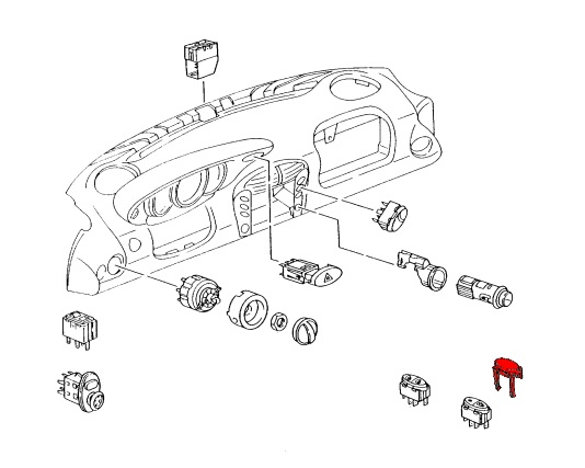 996 Wiring Diagrams 1999 Headlight Porsche