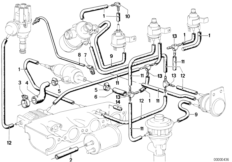 Vacuum Line Diagram 1988 Bmw E30, Vacuum, Free Engine