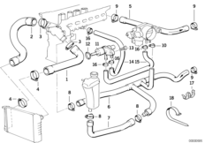 E36 Bmw Cooling System Diagram, E36, Free Engine Image For