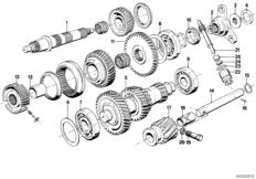 Lock Plate for Output Flange Nut on Manual Transmission