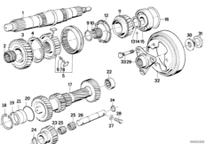 Bmw E34 525i Manual Transmission Diagrams, Bmw, Free