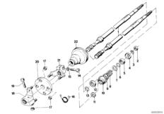 Bushing/Sleeve for Upper Steering Column 32311120260