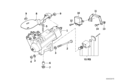 Pressure Regulator for Servotronic Steering Box