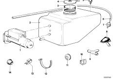Strainer for Windshield Washer Fluid Reservoir 61661365848
