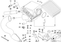 E39 Intake Manifold Diagram R53 Intake Manifold Wiring