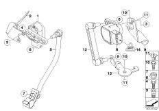 Connector Rod for Headlight Level Sensor 37146752797
