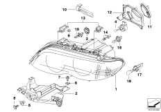 Bulb for Angel Eyes in Headlight Assembly 63126916097