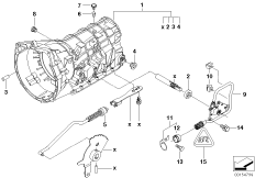 Position Switch for Automatic Transmission 24107507818
