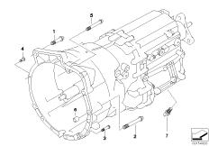 Set Of Alu. Screws Manual Transmission 23000417164