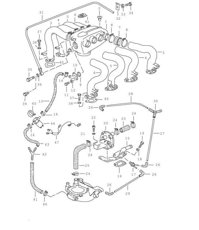 T34y [DIAGRAM] 1985 Audi 5000 System Wiring Diagram FULL