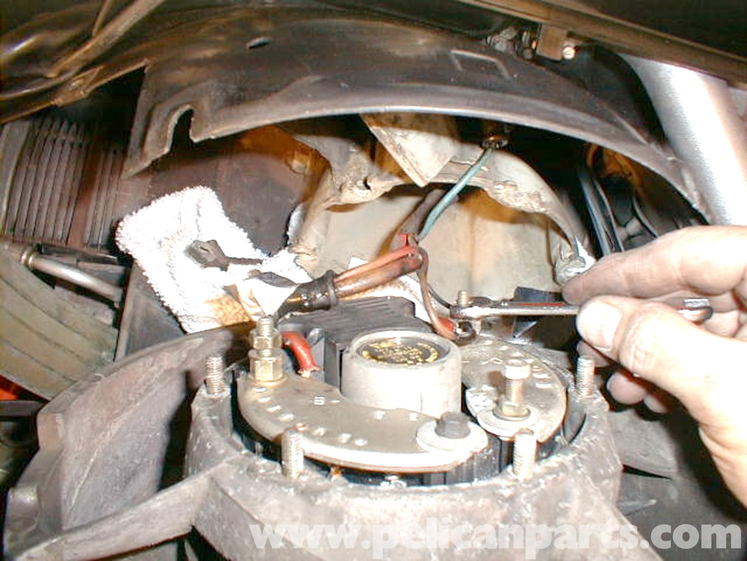 porsche 924 alternator wiring diagram narva dual battery switch 1985 928 cadillac deville